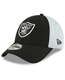 New Era Oakland Raiders Team Blocked 9FORTY Cap