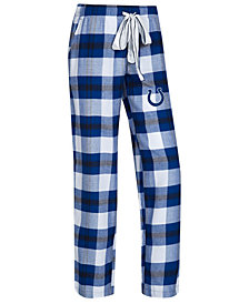 Concepts Sport Women's Indianapolis Colts Headway Flannel Pajama Pants
