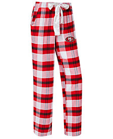 Concepts Sport Women's San Francisco 49ers Headway Flannel Pajama Pants