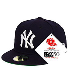 New Era New York Yankees Retro Stock 59FIFTY Fitted Cap