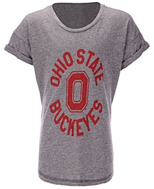 Ohio State Buckeyes Rolled Sleeve T-Shirt, Girls (4-16)