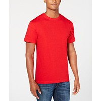Deals on Club Room Mens Performance Crew Neck T-Shirt