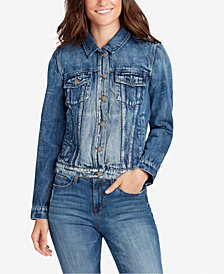 WILLIAM RAST Juniors' Lenna Cotton Denim Jacket