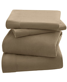 Peak Performance 3M Scotchgard Micro Fleece 4-PC Queen Sheet Set
