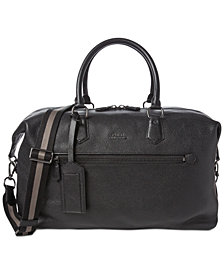 Polo Ralph Lauren Men's Pebbled Duffel Bag