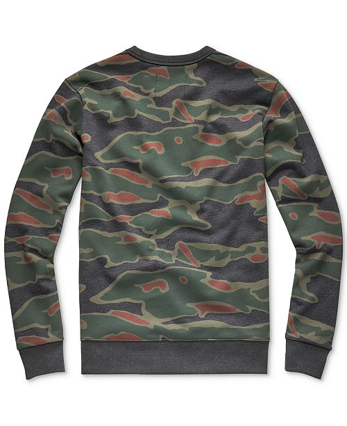 G-Star Raw Men s Sverre Camo Sweatshirt - Hoodies   Sweatshirts ... 02a62397a25