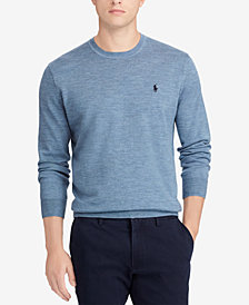 Polo Ralph Lauren Men's Merino Wool Crew Neck Sweater