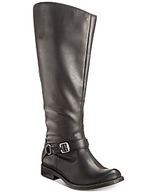 Quinn Wide-Calf Riding Boots