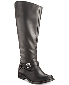 Easy Street Quinn Wide-Calf Riding Boots