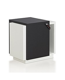 Nicollette Contemporary End Table