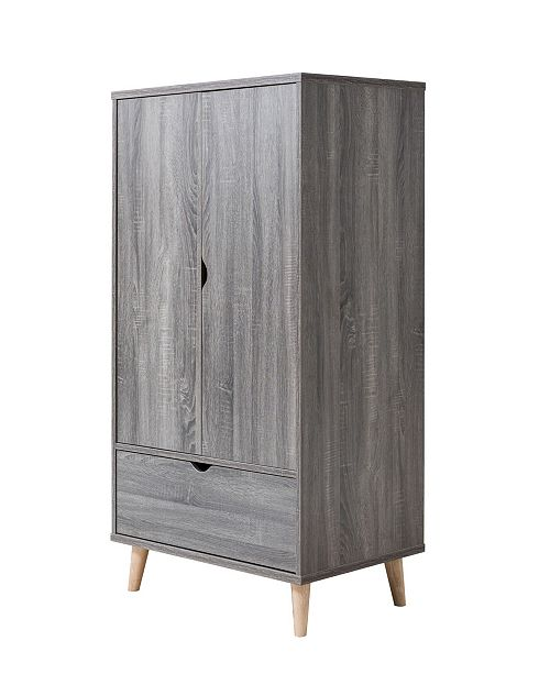 Furniture of America Modern Massenburg II Wardrobe Armoire
