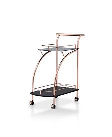 Lissy Lustrous Mirror Serving Cart