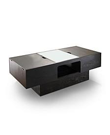 Eleanore Center Shelf Coffee Table