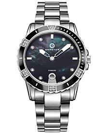Women's 'Influence' Diamond Accented Swiss Quartz Bracelet Watch