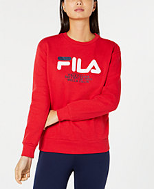 Fila Logo-Graphic Sweatshirt