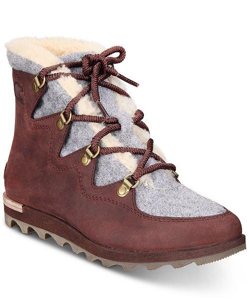 3e75edceab6 Sorel Women's Sneakchic Alpine Booties & Reviews - Boots - Shoes ...
