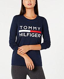 Tommy Hilfiger Sport Logo Top