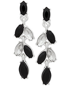 Anne Klein Multi-Stone Drop Earrings, Created for Macy's