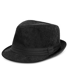 Men's Classic Fit Wale Fedora
