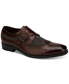 Tallia Men's Savona Monk Strap Loafers