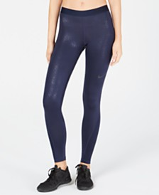Nike Pro Metallic-Print Leggings