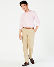 Tommy Hilfiger Fine Twill Pants, Big Boys