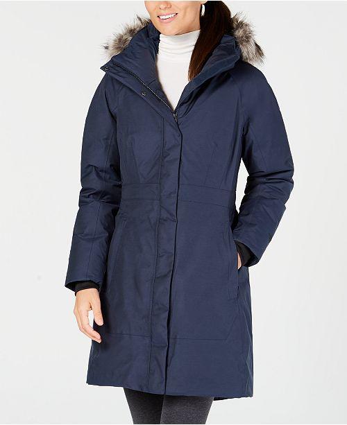 The North Face Arctic Faux-Fur-Trimmed Parka - Coats - Women - Macy s a927de1bcfee