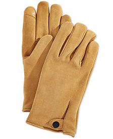 UGG® Men's Vented Leather Gloves