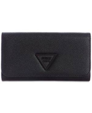 Lauri Boxed 2-In-1 Wallet, Black/Matte Black