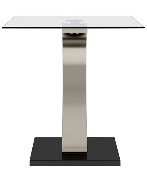 Furniture of America Navarre Square End Table