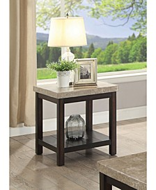 Ozzi Transitional End Table