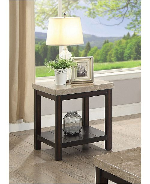 Furniture Ozzi End Table, Quick Ship