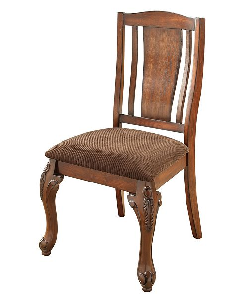 Furniture of America Jamis Side Chair, Quick Ship