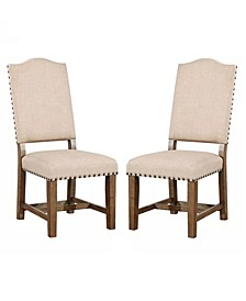 Kora Light Oak Side Chair (Set of 2)