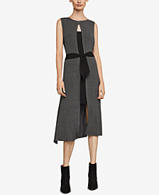 BCBGMAXAZRIA Two-Tone Tunic Dress