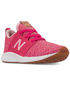 New Balance Girls' Fresh Foam Sport V1 Running Sneakers from Finish Line