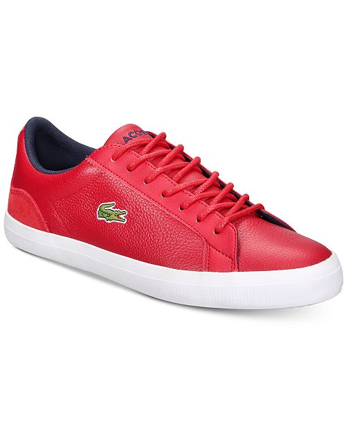 af1db96a4734cc Lacoste Men s Lerond 318 3 CAM Sneakers   Reviews - All Men s Shoes ...
