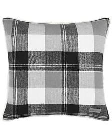 Eddie Bauer Lodge Dark Grey Square Pillow