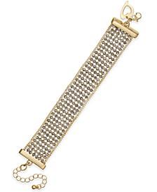 Crystal Multi-Row Flex Bracelet, Created for Macy's