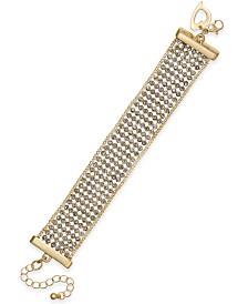 Thalia Sodi Crystal Multi-Row Flex Bracelet, Created for Macy's