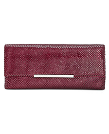 I.N.C. Hether Small Matte Flat Mesh Clutch, Created for Macy's