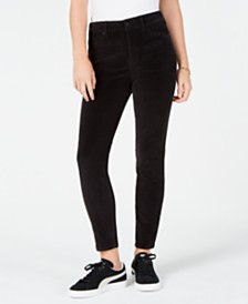 Rewash Juniors' High-Rise Corduroy Jeans