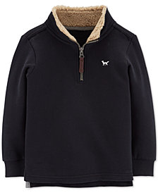 Carter's Toddler Boys Half-Zip Fleece Pullover