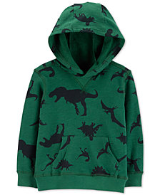 Carter's Toddler Boys Cotton Dinosaur Hoodie