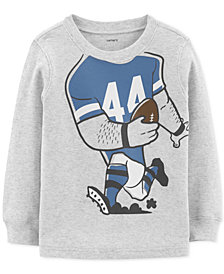 Carter's Toddler Boys Football Thermal Cotton T-Shirt