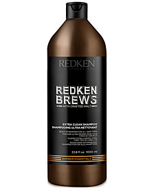 Redken Brews Extra Clean Shampoo, 33.8-oz., from PUREBEAUTY Salon & Spa