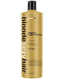 Blonde Sexy Hair Bombshell Blonde Daily Color Preserving Shampoo, 33.8-oz., from PUREBEAUTY Salon & Spa
