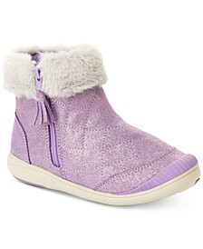Toddler Girls Faux-Fur Trimmed Boots