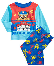 PAW Patrol Toddler Boys 2-Pc. Fleece Pajama Set