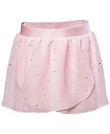 Toddler, Little & Big Girls Embellished  Georgette Practice Skirt